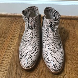 Gianni Bini - Snakeskin Ankle Boots